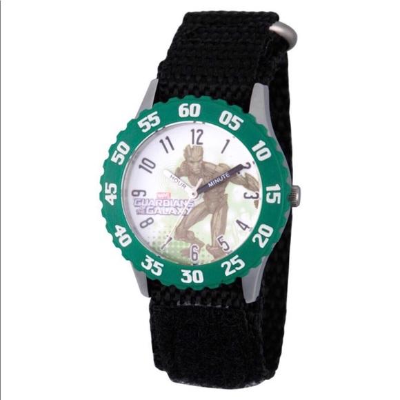 Groot time teacher boys nylon strap watch